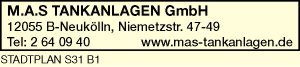 Logo von M.A.S. TANKANLAGEN GmbH