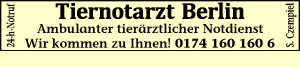 Czempiel, S. - Tiernotarzt Berlin