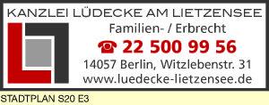 Lüdecke Kanzlei am Lietzensee