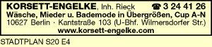 Korsett - Engelke, Rieck