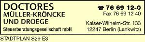 Doctores Müller-Kröncke und Droege Steuerberatungsgesellschaft mbH