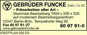 Logo von Funcke GmbH & Co. KG, Gebrüder