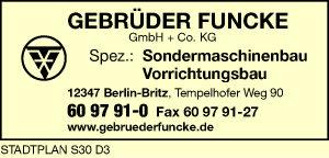 Funcke GmbH & Co. KG, Gebrüder