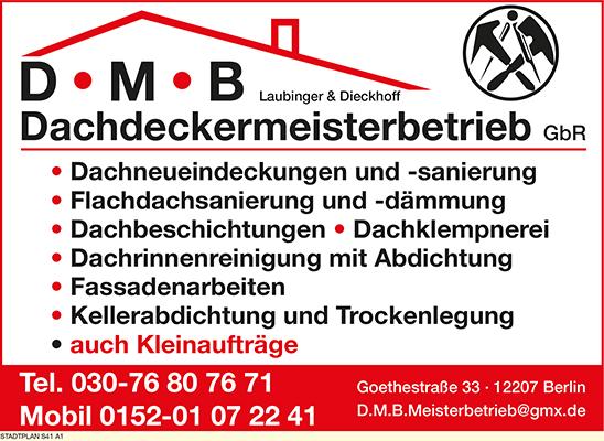D.M.B. Dachdeckermeisterbetrieb Laubinger & Dieckhoff GbR