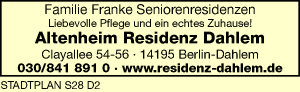 Altenheim Residenz Dahlem
