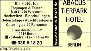 Bild 1 Abacus Tierpark Hotel Berlin in Berlin