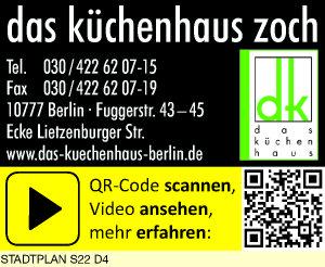 Das Küchenhaus das küchenhaus zoch 10777 berlin schöneberg öffnungszeiten