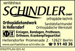 Sanitätshaus Schindler GmbH