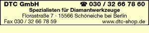 Logo von DTC GmbH Diamantwerkzeuge
