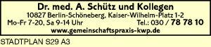 Schütz, A., Dr. med. und Kollegen