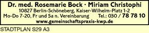 Bock, Rosemarie, Dr. med. und Kollegen