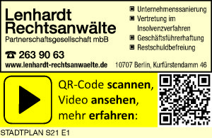 Lenhardt Rechtsanwälte Partnerschaftsgesellschaft mbB