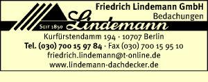 Lindemann GmbH, Friedrich