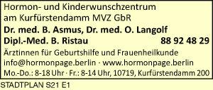Asmus, B. Dr. med. und Dipl. Med. B. Rista