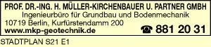 Müller-Kirchenbauer, Prof. Dr.-Ing., H.,  und Partner GmbH