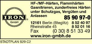 Logo von Iron GmbH