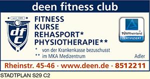 Logo von Adler, Deen Fitness Club