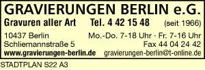 Gravierungen Berlin e.G.