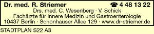 Striemer, R., C. Wesenberg, V. Schick