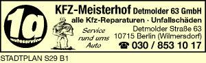 Kfz-Meisterhof Detmolder 63 GmbH