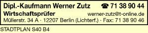 Logo von Zutz Werner Dipl.-Kfm.