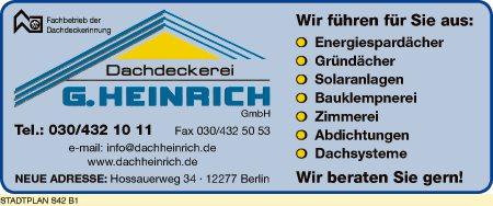 Heinrich GmbH, G.