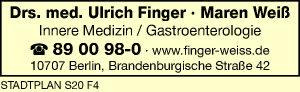 Finger, Ulrich und Maren Weiß