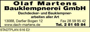 Martens Bauklempnerei GmbH, Olaf
