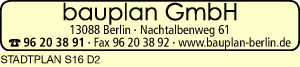 Logo von bauplan GmbH