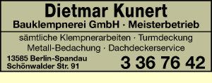 Kunert Bauklempnerei GmbH