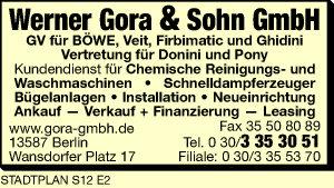 Gora, Werner & Sohn GmbH