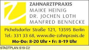 Bennecke, Manfred, Heinig, Maike und Dr. Jochen Loth