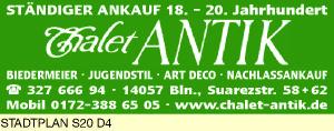 Logo von Chalet ANTIK