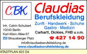 Claudias Berufskleidung, Inh. Catrin Schubert
