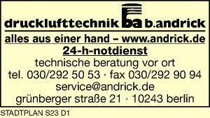 Andrick Drucklufttechnik
