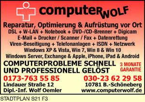 computerWOLF, Inh. Dipl.-Ing. Wolf Oemler