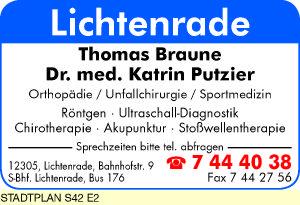 Braune, Thomas und Dr. med. Katrin Putzier