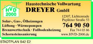 Dreyer GmbH Haustechnische Vollwartung HVD 2000