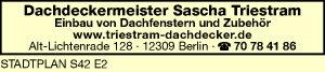 Dachdeckermeister Sascha Triestram