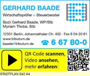 Bild 1 Baade, Gerhard und Myriam Thobe in Berlin