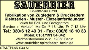Sauerbier Spiralfedern GmbH