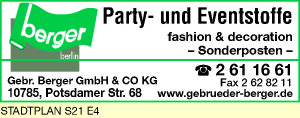 Berger GmbH & Co KG, Gebrüder