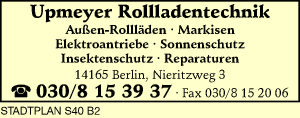 Upmeyer Rollladentechnik