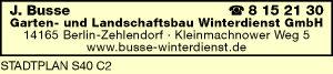 Busse Garten- und Landschaftsbau Winterdienst GmbH
