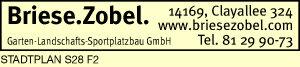 Briese. Zobel. Garten-Landschafts-Sportplatzbau GmbH
