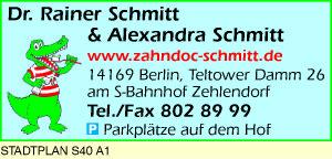 Schmitt, Rainer, Dr. med. dent. &  Alexandra Schmitt