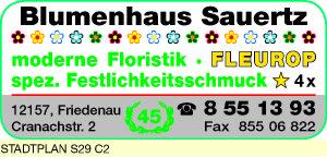 Logo von Blumenhaus Sauertz