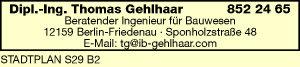 Logo von Gehlhaar Thomas Dipl.-Ing.