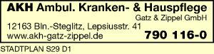 AKH Ambulante Krankenpflege und Hauspflege Gatz & Zippel GmbH