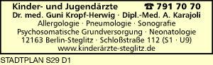 Kropf-Herwig, Guni, Dr. med. und Dipl.-Med. A. Karajoli